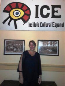 Arquitecta Ana Sciandro en el ICE