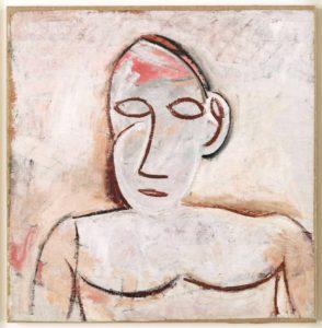 Busto - estudio para Las Señoritas de Avignon