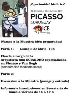 ICE San José - Muestra Picasso MNAV