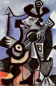 Músico (mosquetero con guitarra)