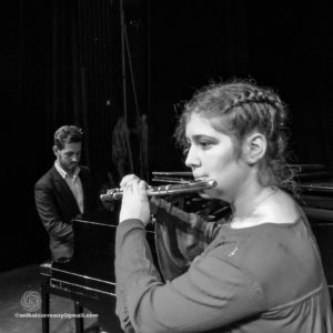 Concierto de flauta y piano Valentina Borgia- Flauta Agustín Urbina- Piano