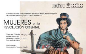 """""""Mujeres en la Revolución Oriental"""" en el Museo de San José"""