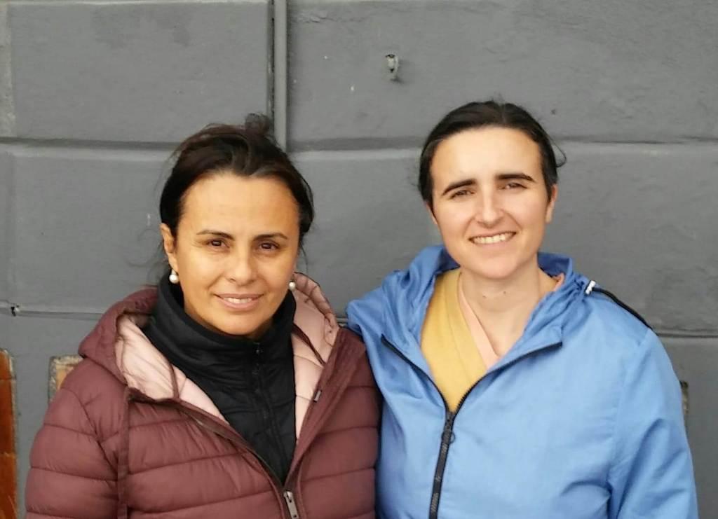 Lilián Rodríguez y Seida Lans -
