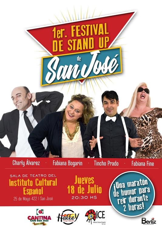 1er. Festival de Stand Up de San José