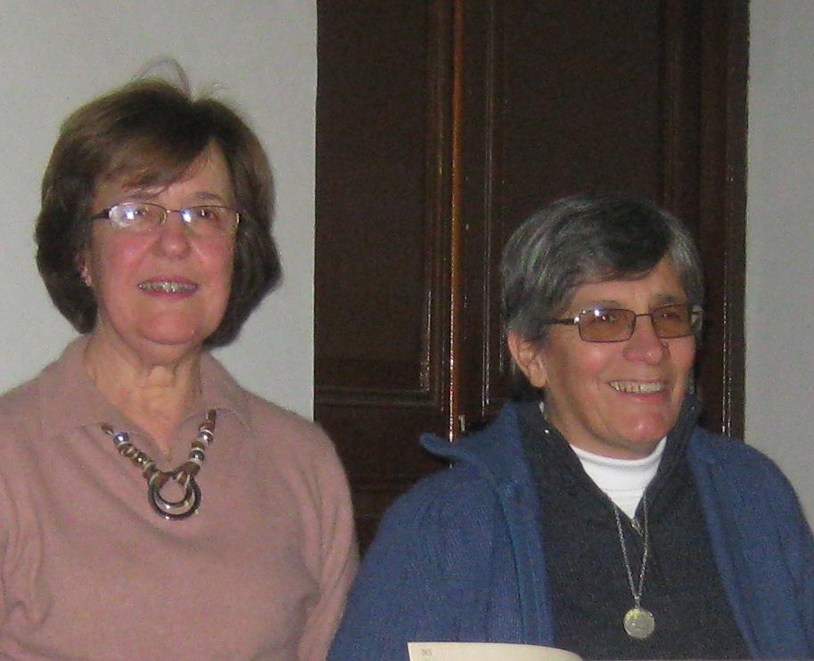 Prof.Edhy Saavedra y Prof.Adriana Viña (foto de archivo, agosto 2013)