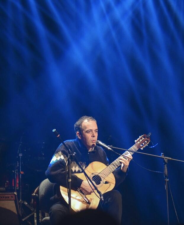Bernardo Goñi en un recital en el Macció