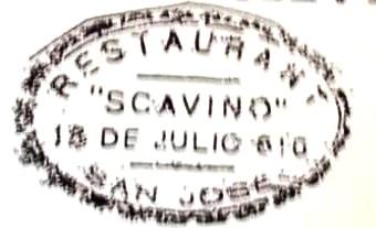 RESTAURANT SCAVINO
