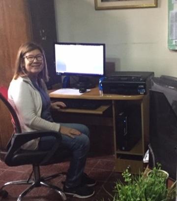 Coordinadora de Rayito de luz, Mtra. Rosario De León Romero