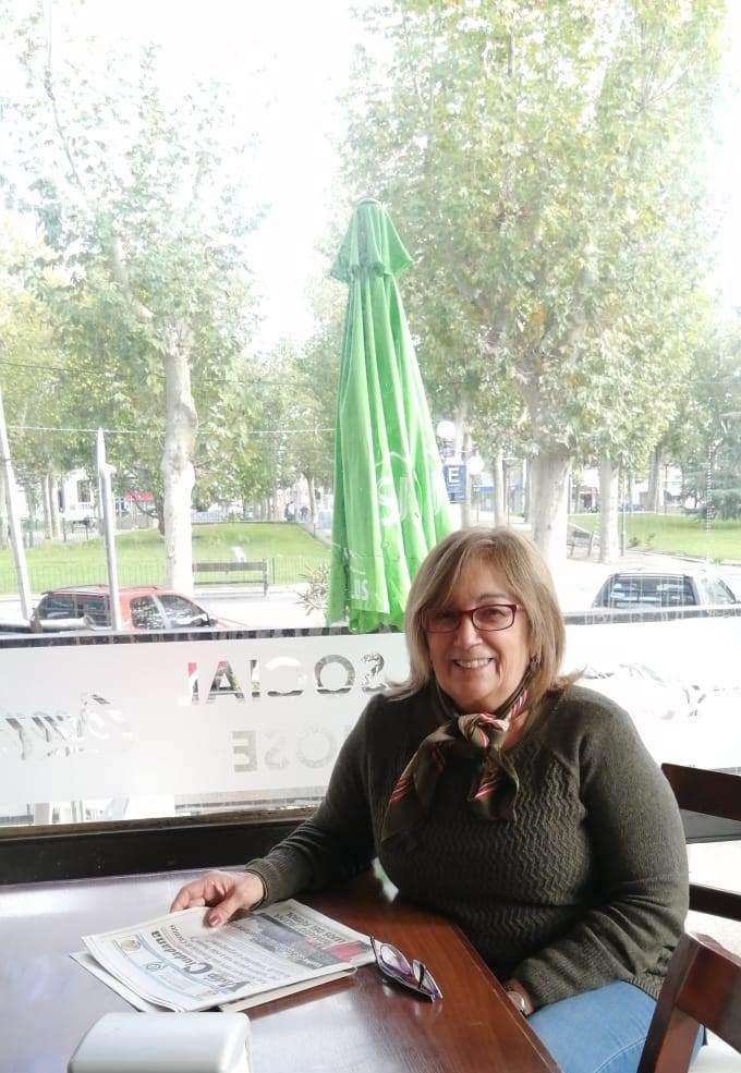 Susana Galeano en el Club San José