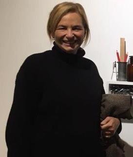 Artista Plástica Cecilia Pollio (foto de archivo de la artista)