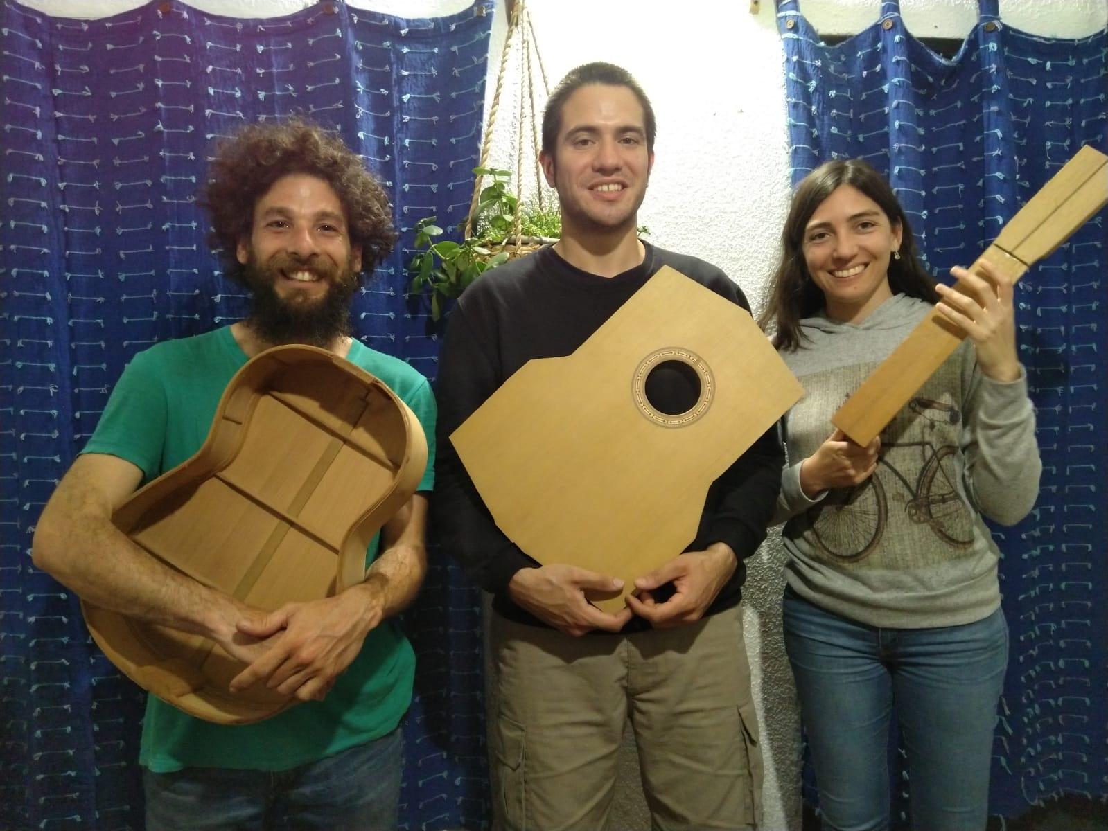 Trío de guitarras El Gentil- Manuel Urrutia, Diego Suárez y Beatriz Alonso 22 11 2020 ICE