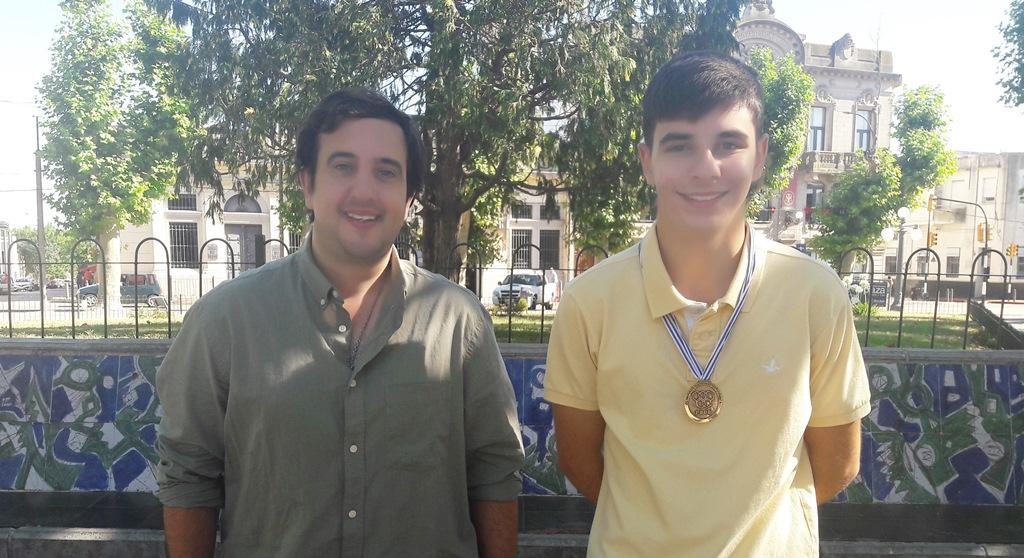 Mauricio De León y Mariano Díaz Borges en Plaza 33--