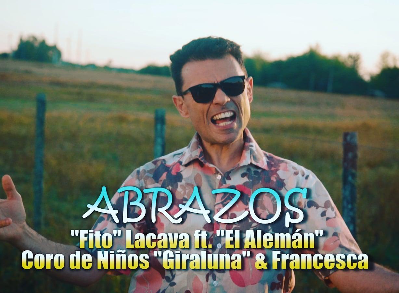 Rodolfo Fito Lacava en el video de su canción Abrazos