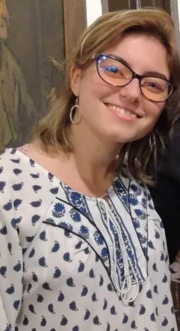 María Julia Sierra en el Museo (foto de archivo- detalle)