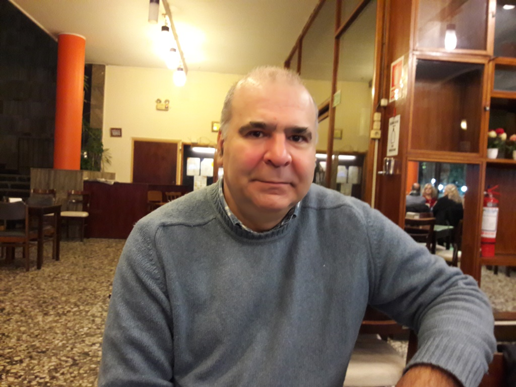 Químico Farmacéutico Carlos Lacava en el Club San José